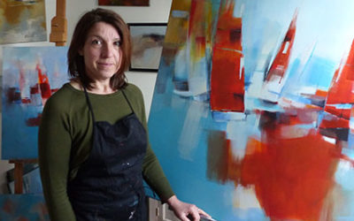 16 au 31 Juillet 2020«Nouveaux horizons»Eva Gohier, peintre