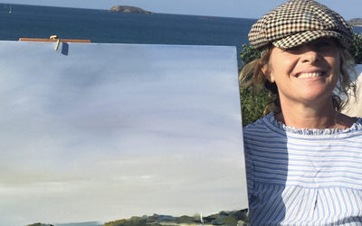 1er au 15 août 2020« Dremmwel, horizons marins »Barbara Lebert, peintre – graphiste