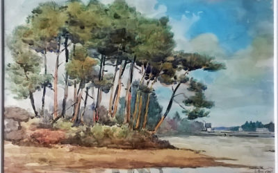 1 au 15 juillet 2021 :Rétrospective d'un gentilhomme talentueuxJean Queffelec, peintre (1927-2014)