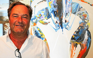 1 – 15 août 2021 : Couleurs EmeraudeFrédéric Laboria, peintre