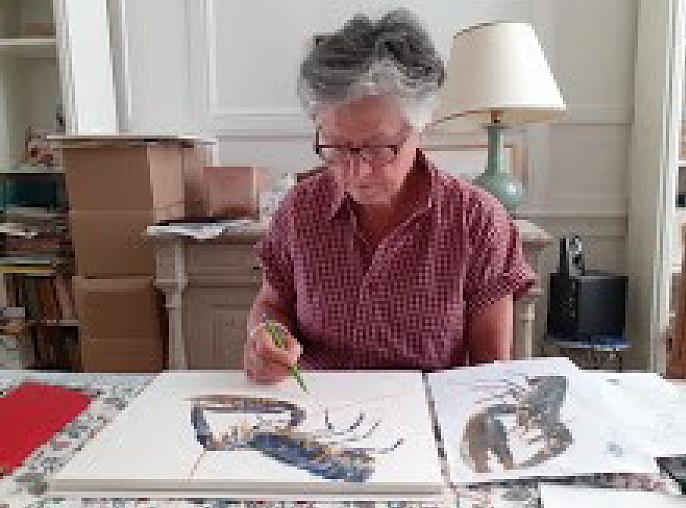 16 – 31 juillet : Isabelle Issaverdens Aquarelles-peintures